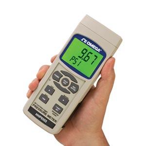 Indicador portátil y registrador de datos de presión | Series HHP9303