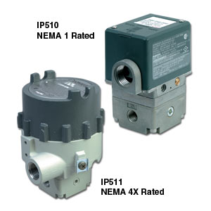 Heavy Duty Electropneumatic Converters   IP510, EP510, IP511, EP511 Series