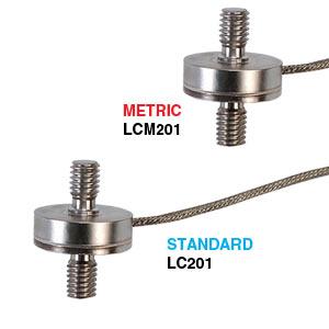 Celdas de carga de compresión o tensión en subminiatura | Serie LC201/LCM201