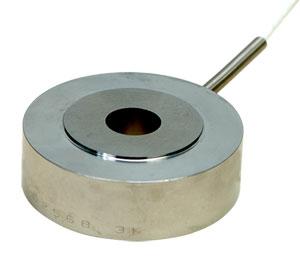 Célula de carga compacta con agujero y diámetro exterior de 2.0