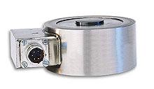 Célula de carga de alta precisión y perfil bajo de 0-25 kgF a 0-5,000 kgF | Serie LCM401 y LCM411