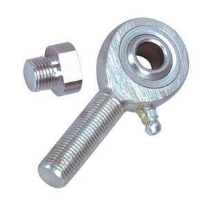 Botones de carga y puntas para varillas en celdas de carga | Series MLBC, MREC