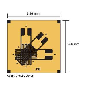 Galga extensiométrica de precisión Roseta rectangular | SGD Triaxial