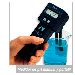 medidor de pH industriales