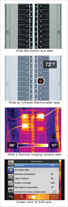 ¿Qué es lo que ve una cámara termográfica?