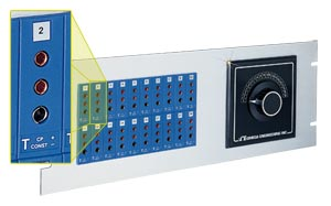 19 inch Jack Panels 3-Prong Connectors | 19TJP Series