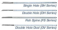 Cable de termopar desnudo y con hebra cerámica | Series BARE, SH, DH y OV