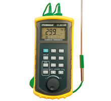 Termómetro simulador de termopar portátil | CL3515R