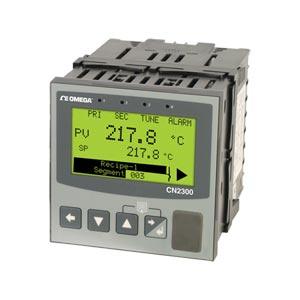 Controlador avanzado de 1/4 DIN rampa/meseta para temperatura/procesos | Serie CN2300