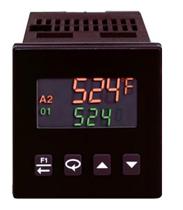 1/16 DIN Autotune Temperature and Process Controllers   CN63200 and CN63400 Series