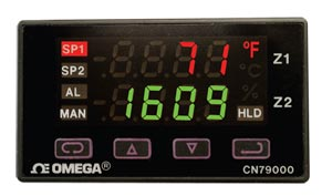 1/32 DIN Dual-Zone Controllers | CN79000 Series