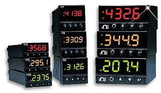Medidores de temperatura, proceso y tensión | Serie DPi