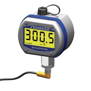 Termómetro RTD digital con carcasa resistente | DTG-RTD100 Series