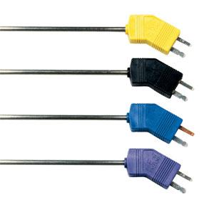 Sondas termopar para ruido bajo con conector Mini | Serie G(*)MQSS