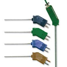 Sondas termopar para ruido bajo con conector Estándar | Seria G(*)QIN and G(*)QSS