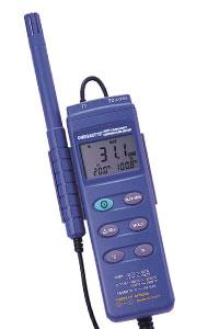 Medidor portátil de humedad y temperatura Serie HH310_311 | HH311