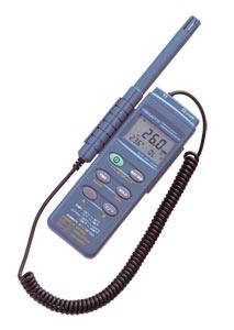 Registrador de datos portátil de temperatura y humedad | Serie HH314A