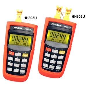 Termómetros de termopar | Serie HH802