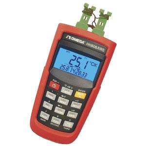 Registrador de datos y termómetro inalámbrico | Serie HH806