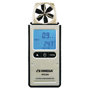 Hygro-Anemometer   Humidity, Dew Point and Wind Chill   Air Flow Measurement   HHC260-Series