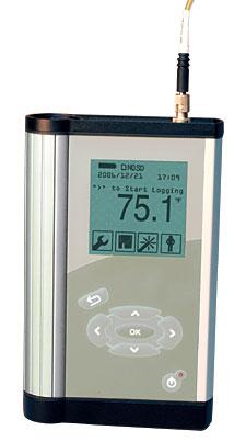 Portable Fiber Optic Data Logger Thermometer | HHTFO-101