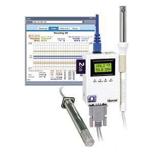 Registrador temperatura y humedad con Ethernet | Serie iTHX
