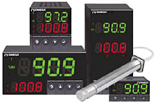 Controladores de humedad y temperatura por catálogo | Serie DPiTH