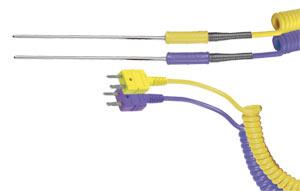 General Purpose Miniature Probes with Miniature Connector, JTSS-HH, KTSS-HH, ETSS-HH, TTSS-HH | xTSS-HH Series