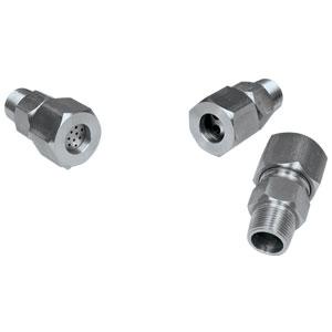 Conexiones interfaciales policonductorasTipo de compresión para sellado de alta temperatura | Serie MFT