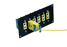 High Temperature Jack Panels for for Standard Size Ceramic Connectors   NXJP Series