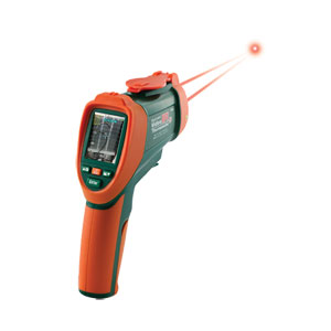 Termómetro infrarrojo digital con vídeo | OS-VIR50