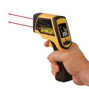 Termómetro infrarrojo con puntero láser | OS499 Series