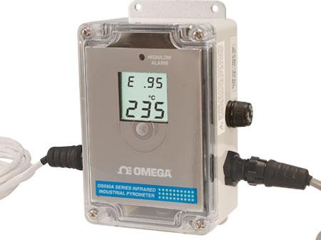 Termómetro de infrarrojos industrial | Serie OS550A