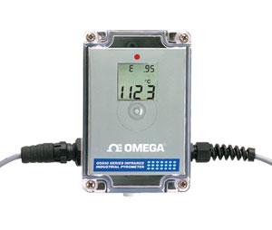 Termómetro industrial infrarrojo | Serie OS555A