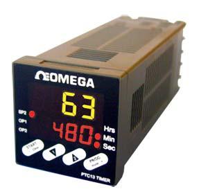 Panel Mount Programmable Timer 1/16 DIN IP65 | PTC-13