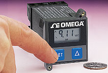 1/16 DIN LCD Industrial Timer with 6 Programmable Time Ranges | PTC-1A
