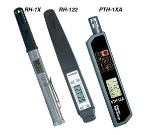 Comprobadores de bolsillo para la temperatura y la humedad relativa | PTH-1XA