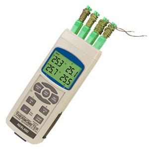 Termómetros registrador de datos para termopar | Series RDXL4SD/RDXL12SD