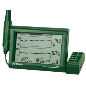Grabador de gráfica sin papel de humedad y temperatura | RH520 Series