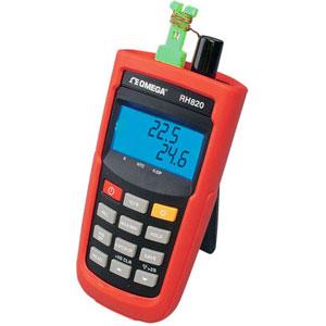 Medidor portátil de  humedad/temperatura | Serie RH820