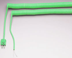 Retractable Sensor Cables for Thermocouples, RTDs and Thermistors | RSC and RSCM Series