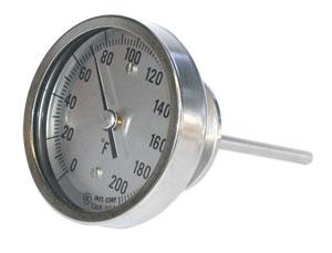 | AA, BB, JJ and LL Bimetal Thermometers