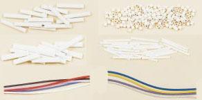 Aislantes, anillos cerámico, PFA y mangas de fibra de vidrio | Series SH, DH, OV, FS, FBGS, TF