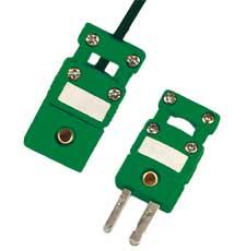 Conector termopar miniatura con abrazadera | Serie SMPW-CC