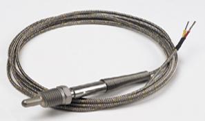 Sonda termopar para tuberias. Rosca  1/4 o 1/8 NPT | Serie TC-(*)-NPT