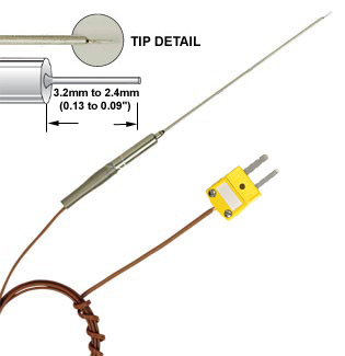Fine Tip Transition Joint Probe with Overbraided Cable | TJFT72