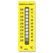 Etiquetas no reversibles de temperatura | Series TL-10