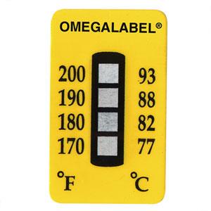 Etiquetas de temperatura no reversibles | Serie TL-4