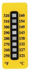 Indicadores de temperatura no reversibles OMEGALABEL™ serie TL-8 | TL-8