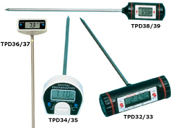 TPD30 Series Digital Stem Thermometers | TPD30 Series Digital Thermometers